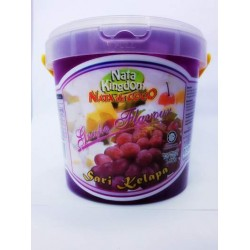 Nata Kingdom 1.5kg Nata De Coco In Grape Flavour