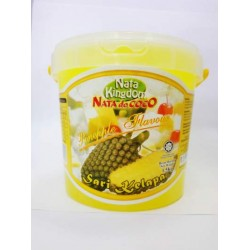 Nata Kingdom 1.5kg Nata De Coco In Pineapple Flavour