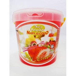 Nata Kingdom 1.5kg Nata De Coco In Strawberry Flavour