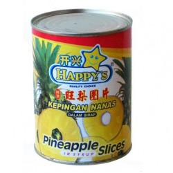Pineapple Slices in Juice
