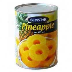 Pineapple Slices in Syrup