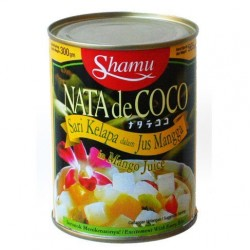 Nata de Coco in Mango Juice