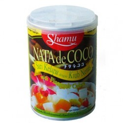Nata de Coco with Pineapple Cubes