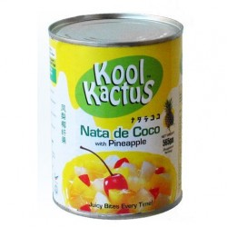 Nata de Coco with Pineapple